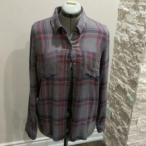 NWT Lucky Brand plaid shirt